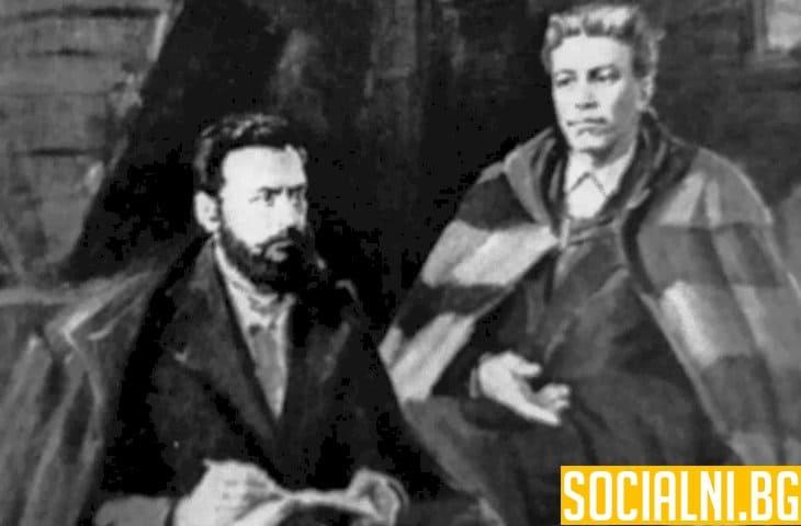 Разговор между Васил Левски и Христо Ботев